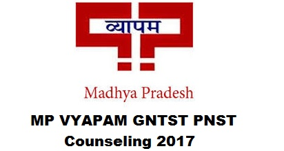 MP VYAPAM GNTST PNST Counseling