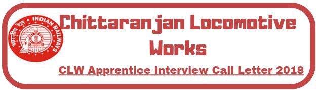 CLW Apprentice Interview Call Letter 2018