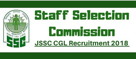 JSSC CGL Recruitment 2018