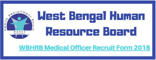 WBHRB Medical Officer Recruit Form 2018
