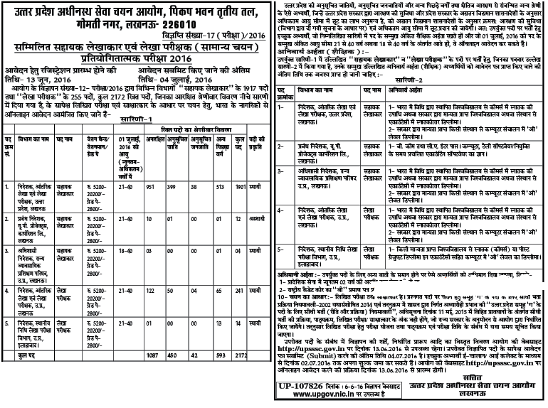 UPSSSC-Accountant-Recruitment-Notification