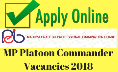 MP Platoon Commander Vacancies 2018