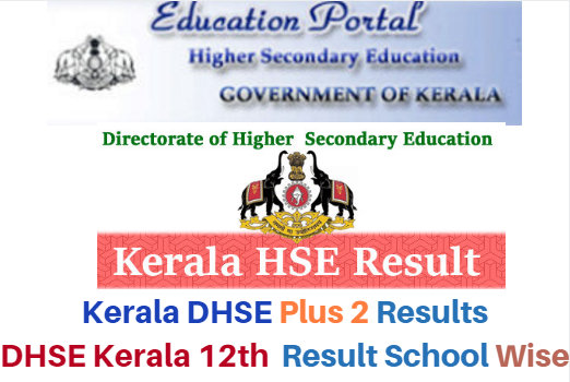 DHSE Kerala HSE Result News 2017 Plus Two/12th Result Date