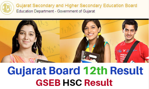 Gujarat Board HSC/12th Class Annual Exam Result 2019
