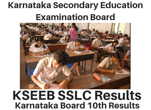 KSEEB Kar SSLC Exam Results 2020