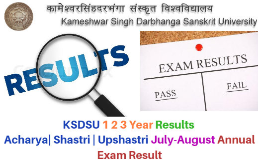 KSDSU 1st-2nd-3rd Year Result 2020
