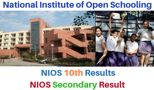 NIOS 10th Class Result News ~ 2018 @nios.ac.in Secondary Result Date
