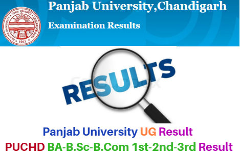 PUCHD Panjab University Results 2018