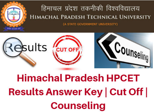 Himachal Pradesh HPCET Results 2017 Answer Key | Cut Off | Counseling