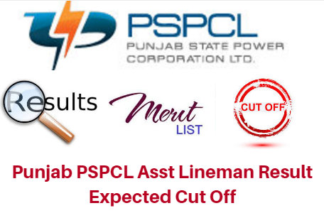 Punjab PSPCL Asst Lineman Result 2018 Expected Cut Off