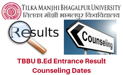 TMBU B.Ed Entrance Result 2017 Counseling Dates