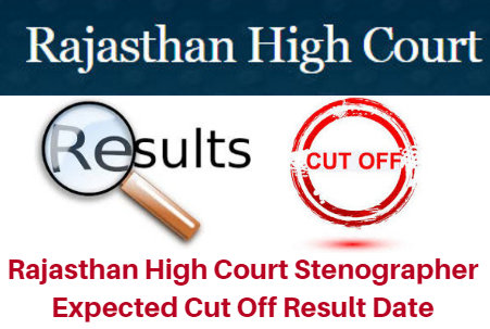 Rajasthan High Court Stenographer Expected Cut Off 2017 Result Date