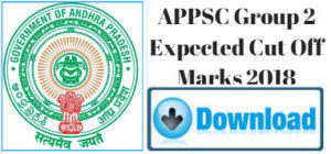 APPSC Group-2 Expected Cut Off Marks 2018