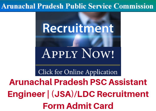 APPSC Assistant Engineer JSA / LDC Recruitment