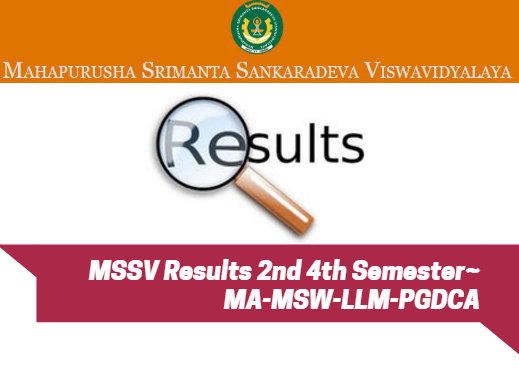 MSSV Results 2nd 4th Semester