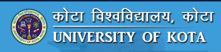 Kota University B.Ed Part 1 2 Result 2018