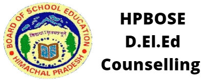 HPBOSE D.El.Ed Counselling