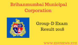 MCGM BMC Group D Result