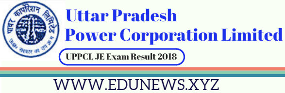 UPPCL JE Exam Result 2018