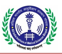 AIIMS MBBS Admission Application Form 2018