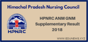 HPNRC ANM GNM Supplementary Result 2018 1 2 3 year