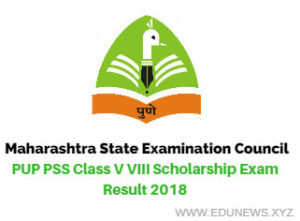 MSCE Pune Class 5th 8th Scholarship Result February 2018
