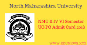 NMU Jalgaon Admit Card