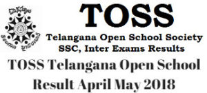 Telangana Open School Result Apr-May 2018