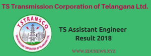TS Transco Assistant Engineer (AE) Result 2018