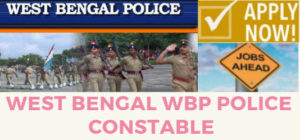 WEST BENGAL WBP POLICE CONSTABLE