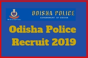 Odisha Police Recruit 2019