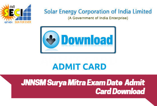 Surya Mitra Admit Card 2018 Download