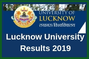 Lucknow University Results 2019