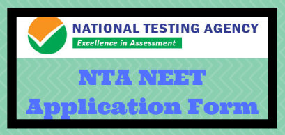 NTA NEET Application Form