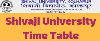 Shivaji University Time Table Oct Nov 2020