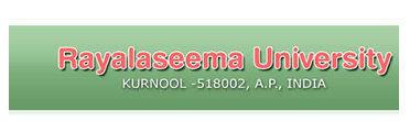 Rayalaseema Univ Winter Exam Date Sheet 2018
