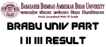 BRABU Univ Part I II III Result