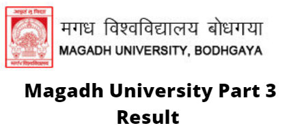 Magadh University Part 3 Result
