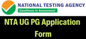 NTA UG PG Application Form