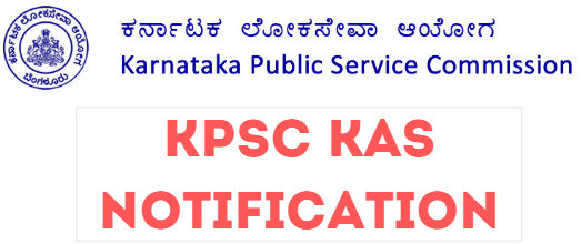 KPSC KAS Notification