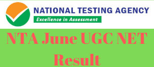 NTA June UGC NET Result